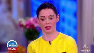 Rose McGowan Talks Alleged Sexual Misconduct By Harvey Weinstein | The View