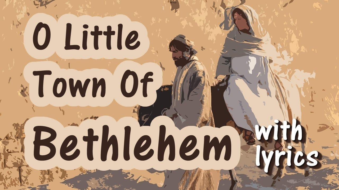 O Little Town of Bethlehem Lyrics   Modern Version Christmas Song - YouTube