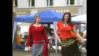 Farida & Tanya perform an Egyptian Ghawazee Dance