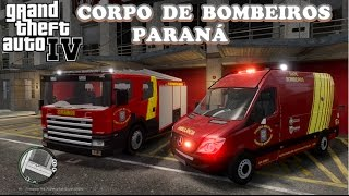 Baixar GTA IV - Ocorrências com Bombeiros do Paraná  #1