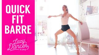 10-Min Fitness Ballet Barre - Total Body Workout