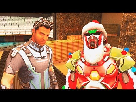 Gangstar Vegas Mecha Claus VS Invisible Man