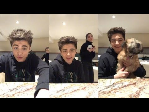 Asher Angel | Instagram Live Stream | 15 January 2019