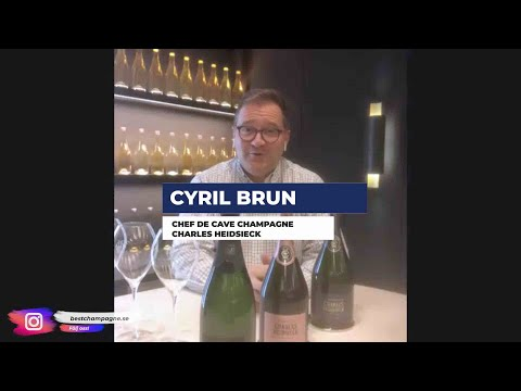 Cyril Brun Chef de Cave Champagne Charles Heidsieck