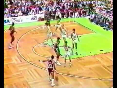 1986 NBA Finals Game2 Celtics vs Rockets (1st half at the Garden) PART 1