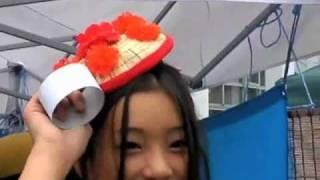 9月25日、2010Jリーグ特命PR部女子マネの足立梨花さんがNDソフトスタジ...