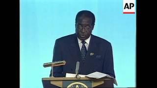 WRAP Annan, Mugabe, leaders at World Food Summit