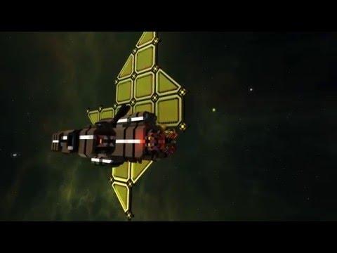StarMade Ships 29 - Helghast Solar BattleCruiser