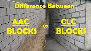 Difference Between AAC Blocks & CLC Blocks