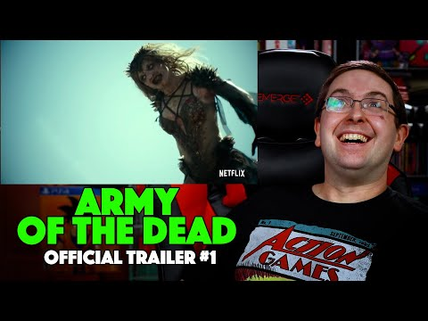 REACTION! Army of the Dead Trailer #1 –   Dave Bautista Movie 2021