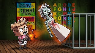 Minecraft Baby FNAF - NEW STUDENT TRAPS GRANNY! (Granny Horror Game)