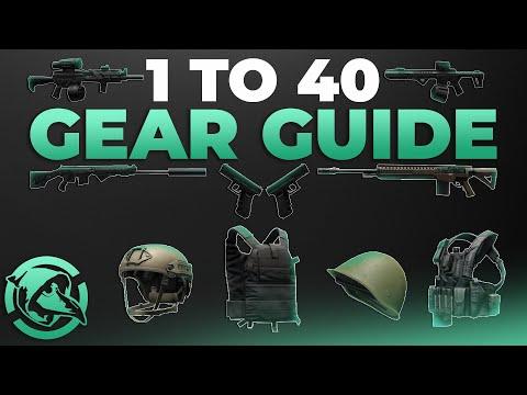 1 to 40 Gear Guide - Escape from Tarkov
