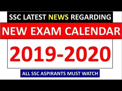 SSC IMPORTANT NEWS REGARDING SSC NEW EXAM CALENDAR FOR YEAR 2019-2020 | MUST SHARE |