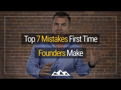 The Top 7 Mistakes First Time Software Founders Make | Dan Martell
