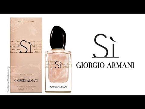 Giorgio Armani Si Nacre Edition Perfume Youtube