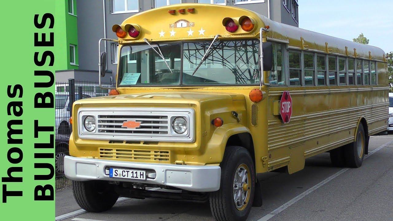 Thomas Built Buses >> Thomas Built Buses Former Us School Bus Ehemaliger Schulbus