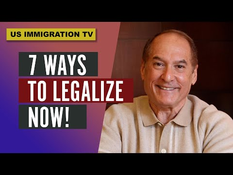 7 Ways to Legalize NOW!