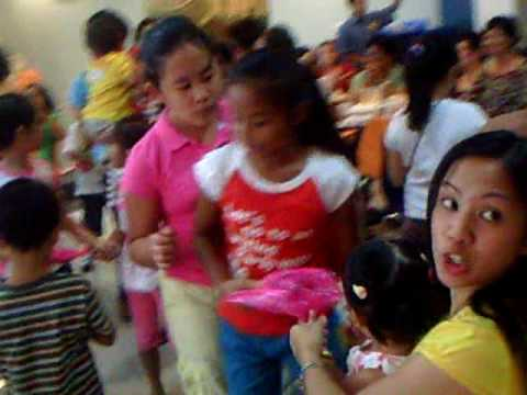 Jollibee kiddie Party -blowing of candles