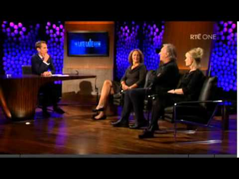 Alan Rickman in The Late Late Show
