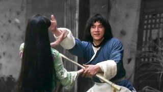 Джеки Чан (Су Инь-Фун) против предводительницы клана | Jackie Chan (Hsu Yin) vs clan leader girl