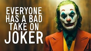 """One of the Worst Takes on """"Joker"""" Ever"""