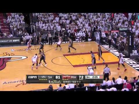 San Antonio Spurs vs Miami Heat Game 3 | June 10, 2014 | NBA Finals 2014