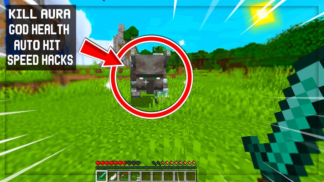 Minecraft, but the Mobs have Hacks.... (Literally Cheating Mobs)