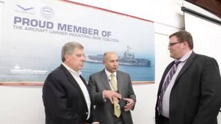 Milwaukee Valve, Newport News Shipbuilding talk partnership