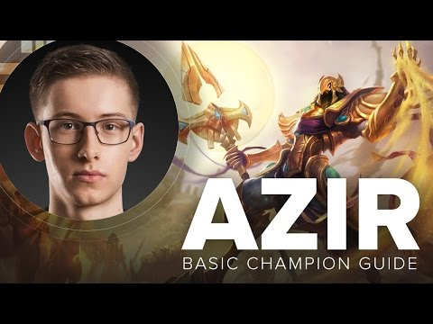 Azir mid guide, combo, and tips by TSM Bjergsen - Season 5 | League of Legends
