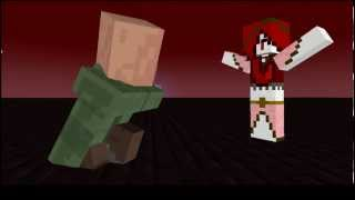Nether Queen VS Villager [OLD MINECRAFT ANIMATION]
