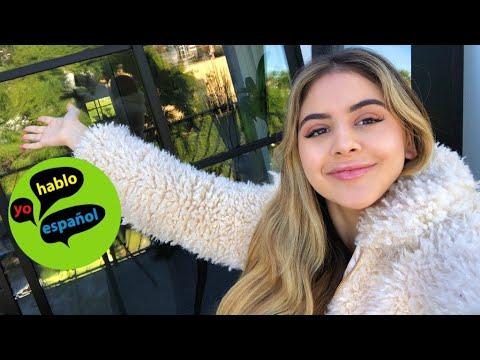 MI PRIMER VIDEO EN ESPAÑOL   MY FIRST SPANISH VIDEO (subtitles)