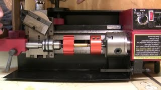 Precision reloading tool:  Mini lathe