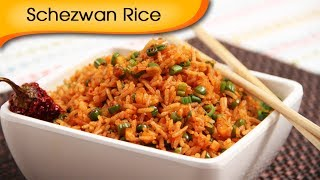 Quick Five Minutes Veg Schezewan Rice Recipe - Chinese Main Course Recipe By Ruchi Bharani