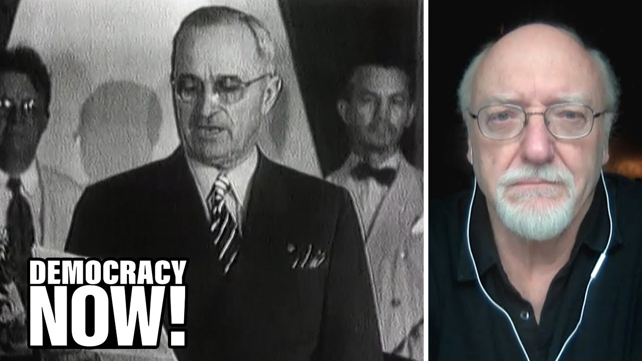 Revealed: How U.S. Gov't & Hollywood Secretly Worked Together to Justify Atomic Bombings of Japan