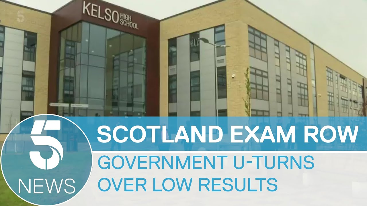 Scotland exam row: Government to reinstate grades for over 120,000 pupils | 5 News