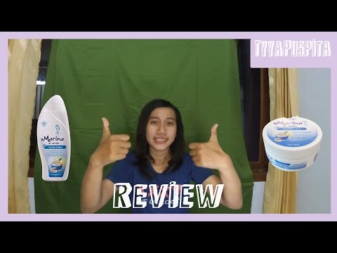 Review Produk Marina Body Scrub & Body Lotion Healthy and Glow