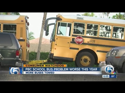 PBC school bus problem worse this year