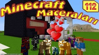 ÖRÜMCEK ÖKÜZCÜK BEBEK EVCİLİK OYNUYOR (Minecraft Maceraları 112)