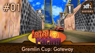 3dfx Voodoo 1 - Fatal Racing / Whiplash - Gremlin Cup - Gateway [Gameplay]