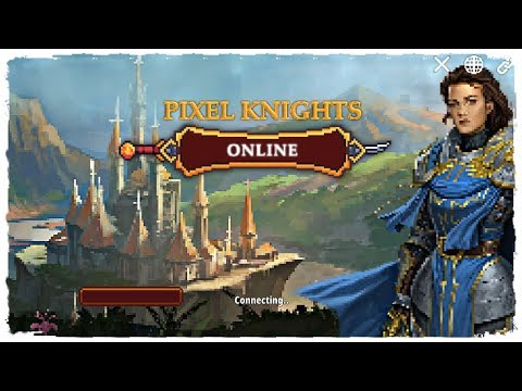 Pixel Knights Online 2D MMORPG MMO RPG Gameplay Android | New Mobile Game