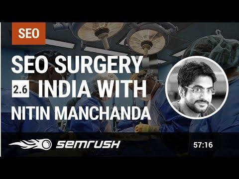 SEO Surgery India 2.6 with Nitin Manchanda