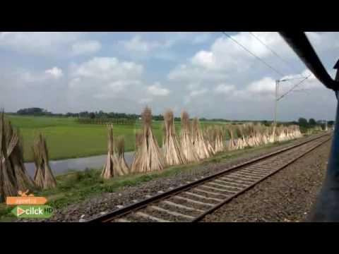 Krishnanagar city jn to Kalinarayanapur jn local train view.. #ayeetra