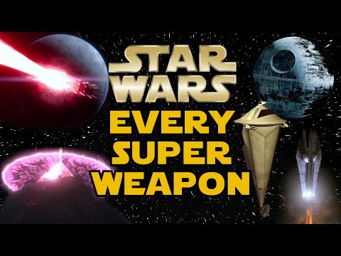 Every Major Superweapon in Star Wars - Star Wars Explained