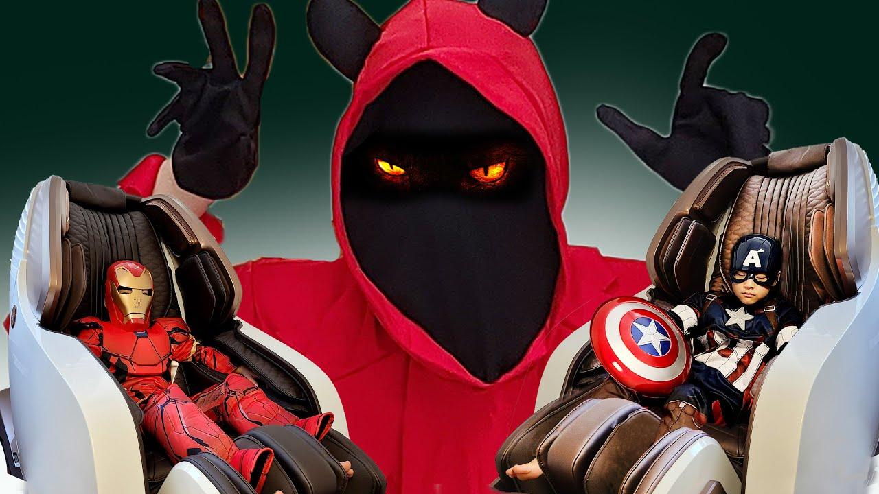 악마를 물리치자!! 서은이의 히어로 변신 놀이 캡틴 아메리카 아이언맨 헐크 변신놀이 Hero Transformation