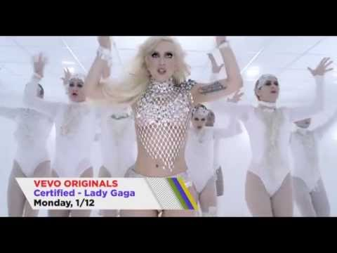 Lady Gaga - VEVO Certified Awards Promo