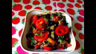 Ну, Очень вкусное ОВОЩНОЕ РАГУ.  Рагу из овощей.  Delicious vegetable stew.