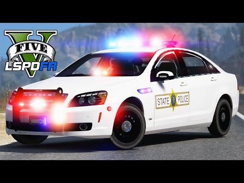 GTA 5 - LSPDFR Ep144 - Illinois State Police w/ Chevy Caprice!!