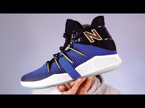 41d9663f903 UNBOXING & FIRST IMPRESSIONS of Kawhi Leonard's FIRST New Balance  Basketball Sneaker - YouTube