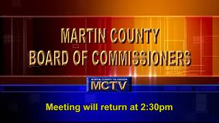 Martin County Board of County Commissioners  - Morning -  Sept 14, 2021