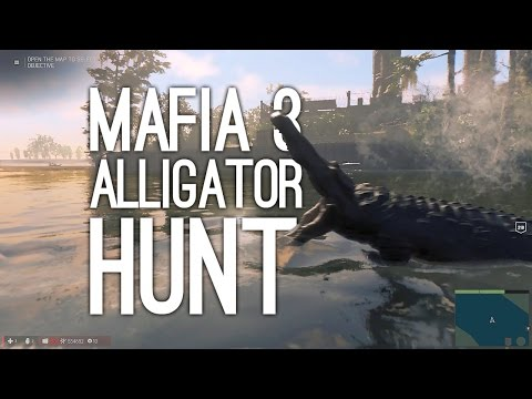 Mafia 3 Gameplay: ALLIGATOR HUNT WITH JANE AND ANDY (Let's Play Mafia 3 Bonus Episode)